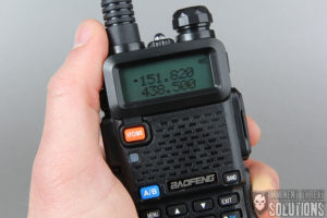 Overview of a portbale HAM radio